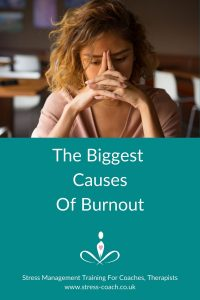 The Biggest Causes Of Burnout, Physical Exhaustion And Adrenal Fatigue - Stress Management Training School - Stress Coach Training