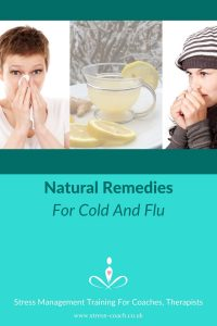 organic natural flu remedies to treat cold and influenza effectively