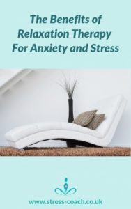 benefits of relaxation therapy for anxiety and stress, sleep problems