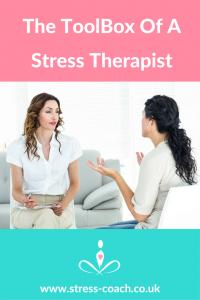 tools of stress therapist