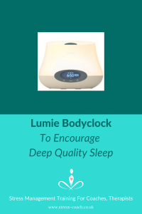 sleep therapy bodyclock devices for natural sleep