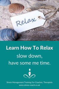 Learn How To Relax, Slow Down, Have Some ME Time