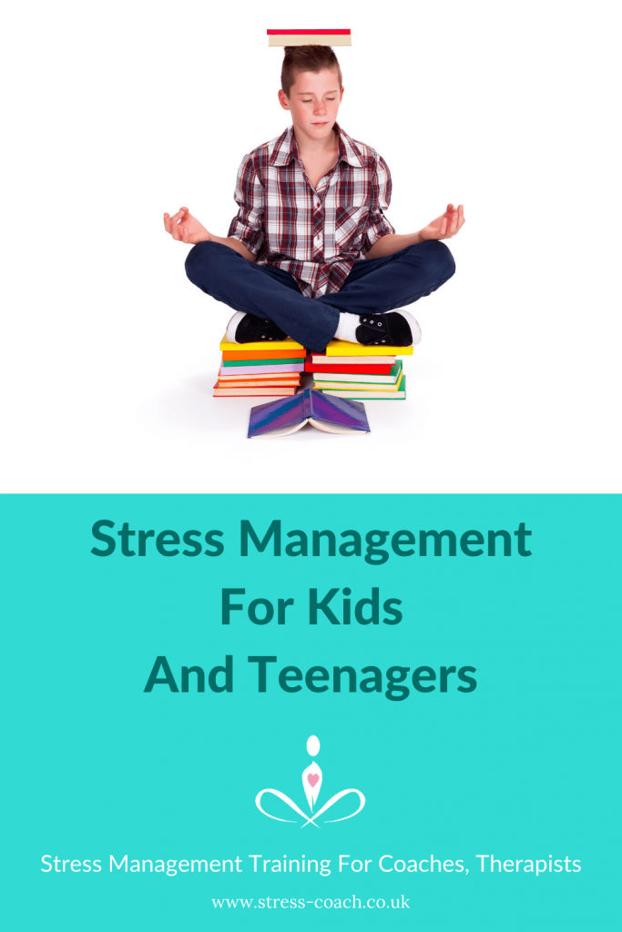 stress management for kids and teenagers