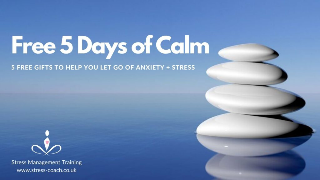 free anxiety course, 5 days of calm, free stress and anxiety busting course during corona