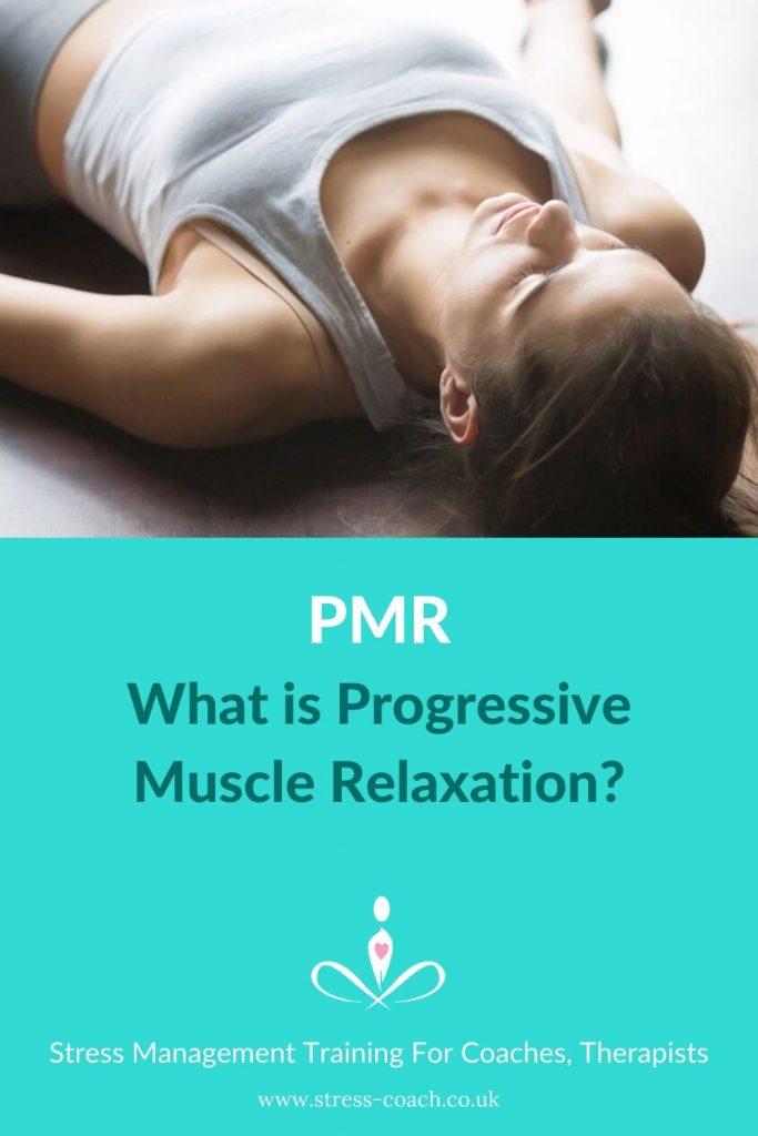 Progressive muscle relaxation for anxiety and stress,