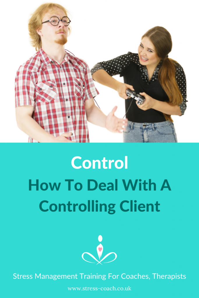 control controlling clients and students in your therapy practice