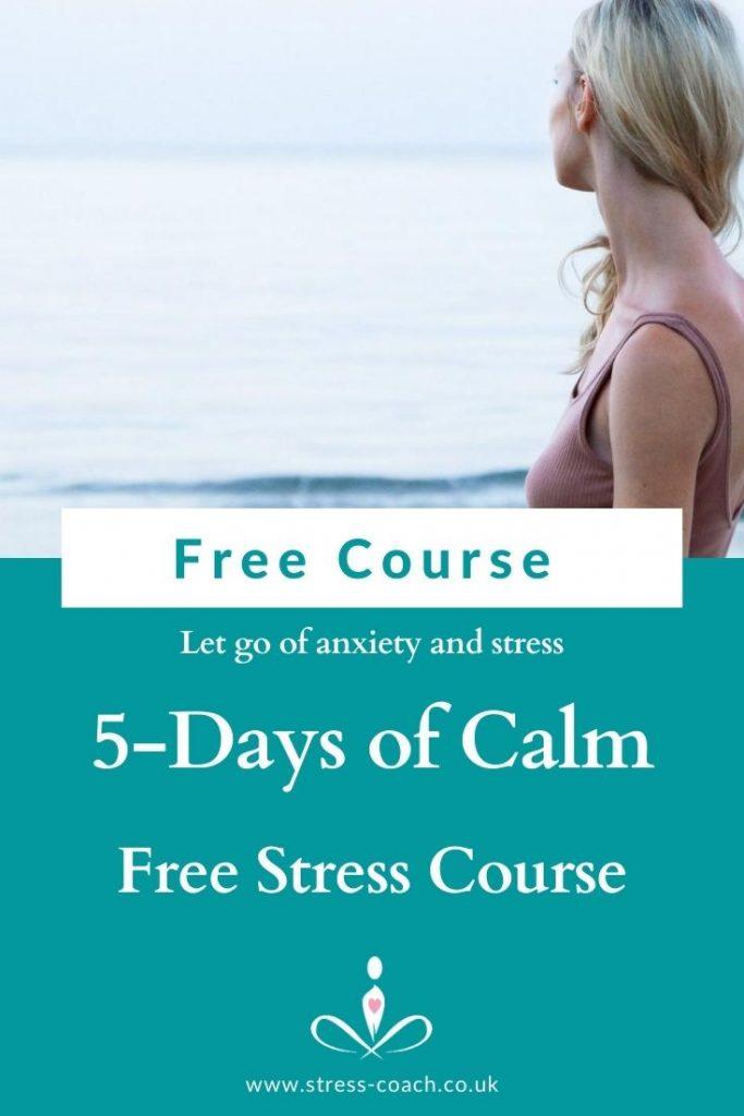 free online stress management course