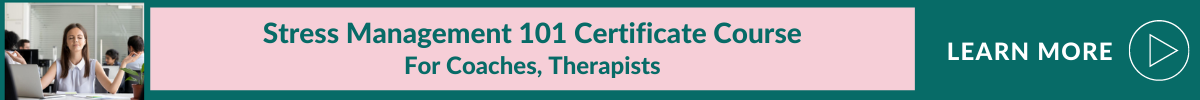 certificated stress management course